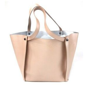 Rose gold Neimous Marcus tote bag